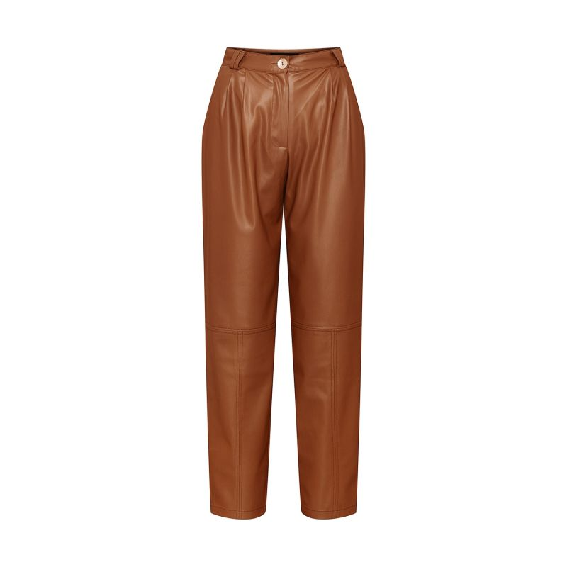 Rebel Tapered Faux Leather Pants image