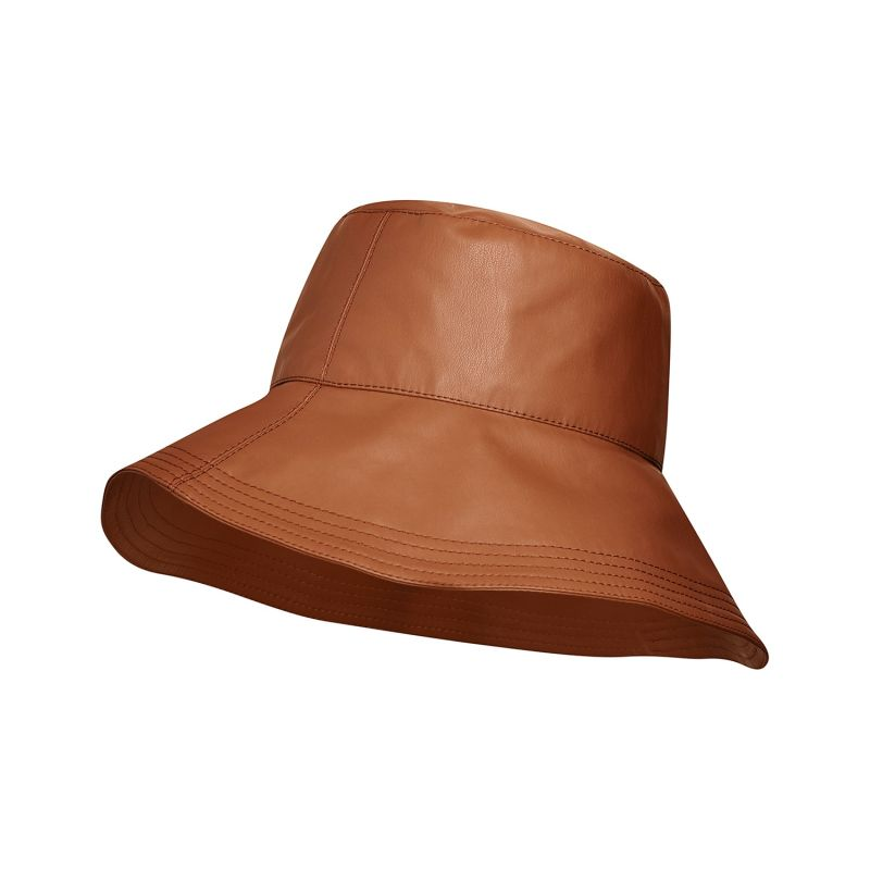 Faux Leather Bucket Hat image