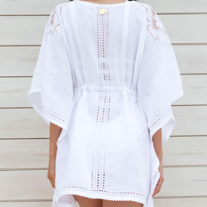 Vasilisa Beach Dress in Elegant White image