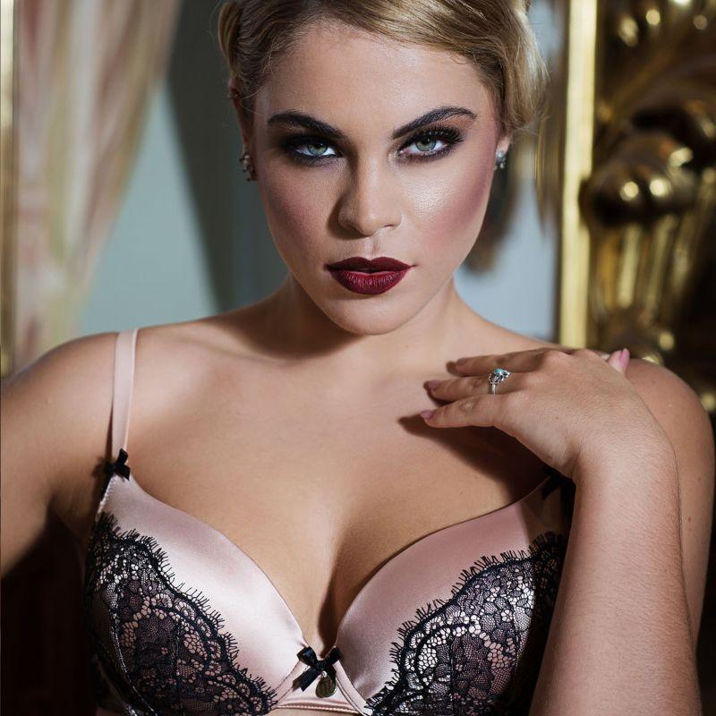 Chantilly Blush Bra image