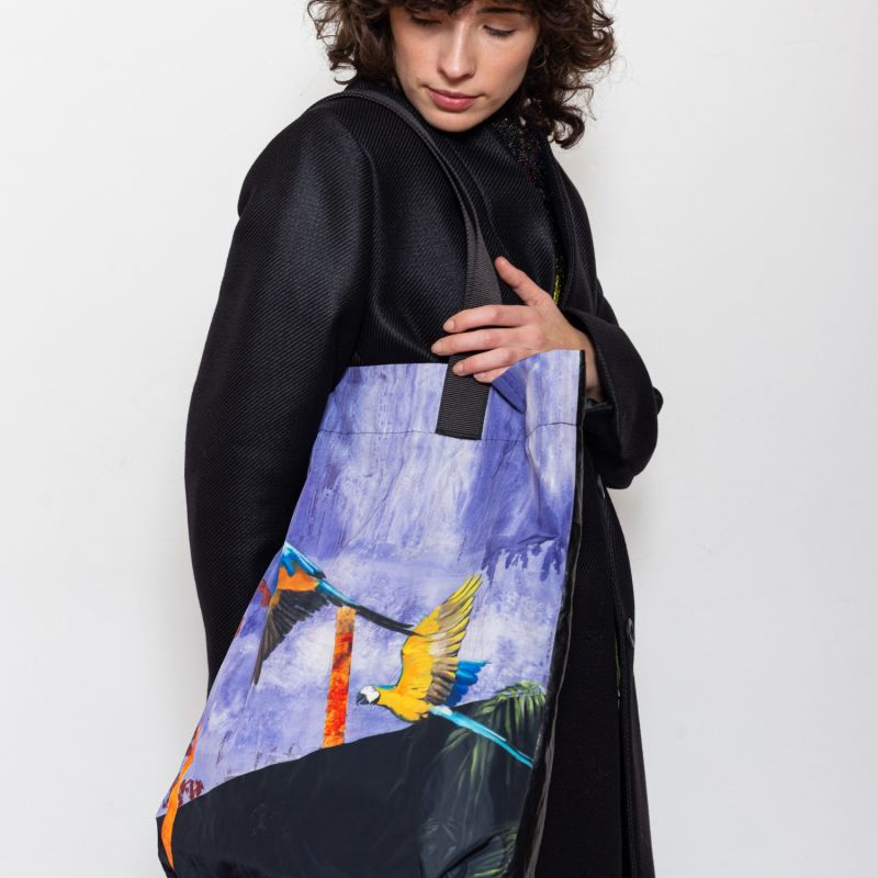 Parrots Tote Bag image