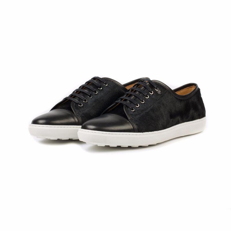 Redchurch Calf Hair Luxury Sneaker Black image