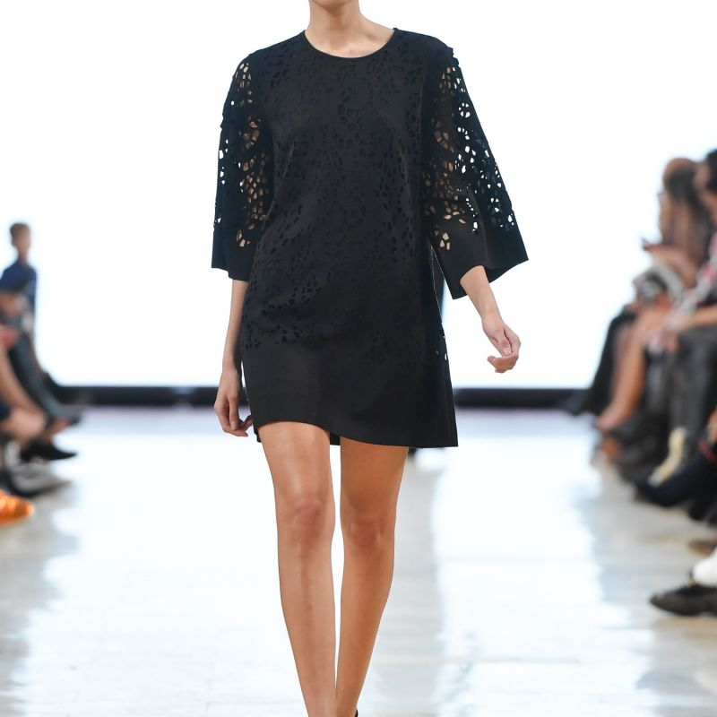 Jonna Laser Cut Tunic Dress image