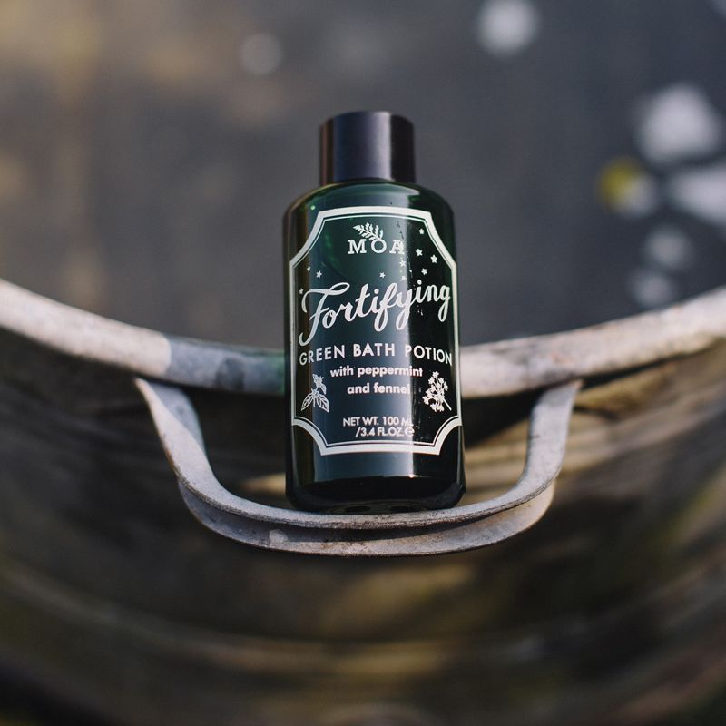 Fortifying Green Bath Potion image