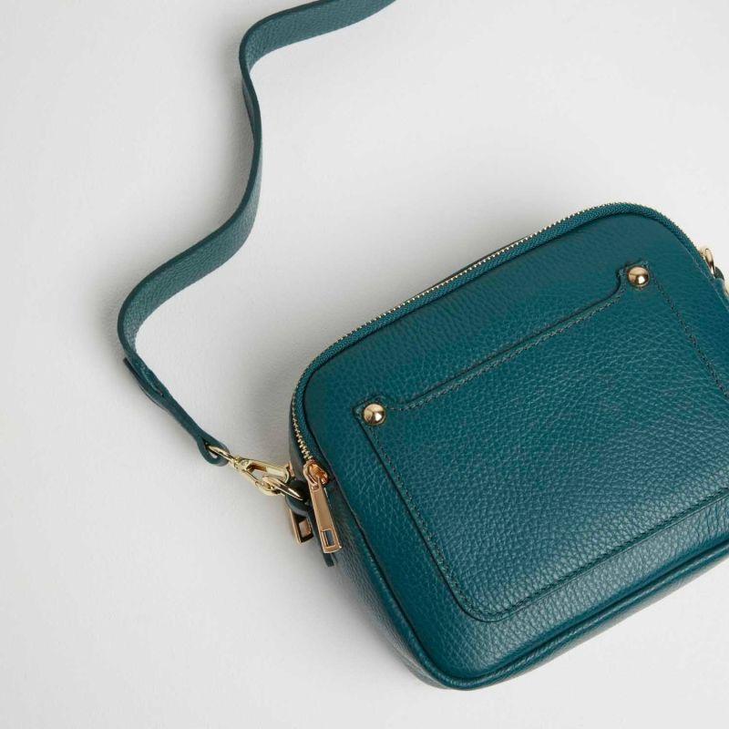 Sienna Crossbody Bag In Dark Teal image