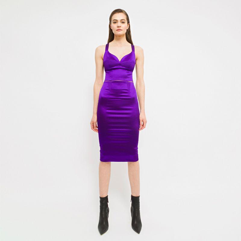 Haze Skirt - Violet image