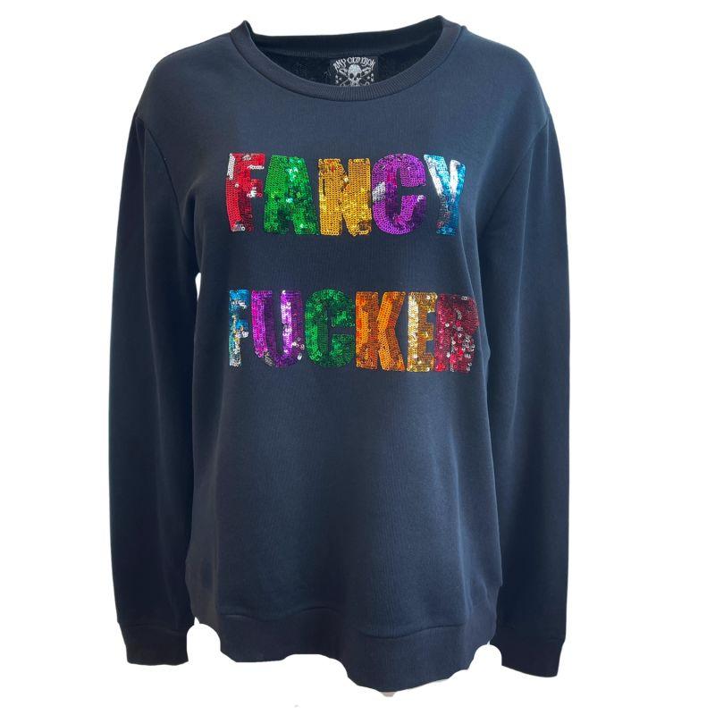 Any Old Iron Fancy Fucker Sweatshirt image