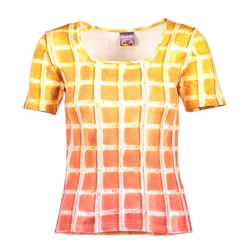 Square T-Shirt  Yellow Gradient image