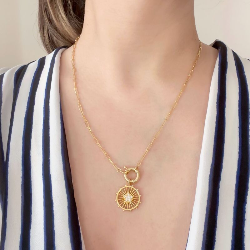 Luminous Star Chain Necklace - Cruise Collection image