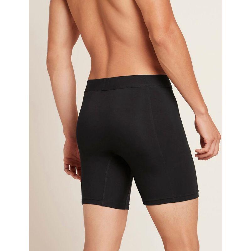 Men'S Everyday Long Boxer (Black) image