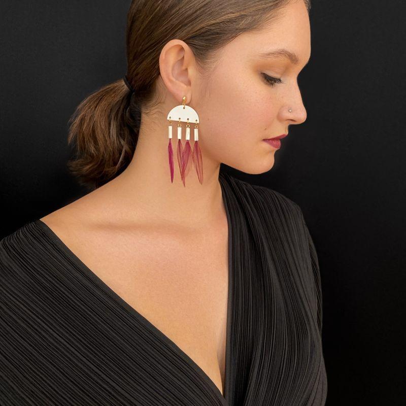 Alona Dangle Earrings image
