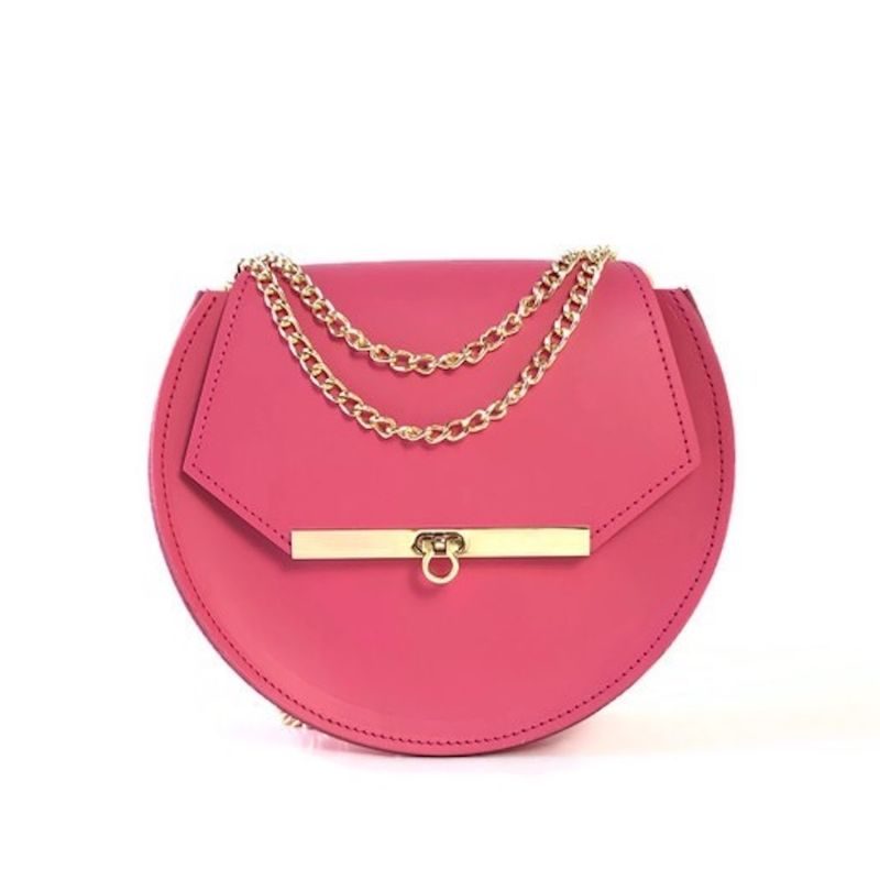 Loel Mini Bee Crossbody Bag In Pink Punch image