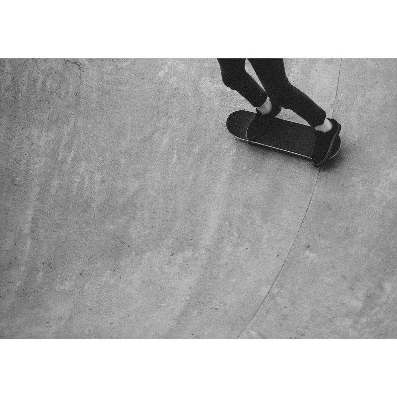 Skateboard Print - A4 image