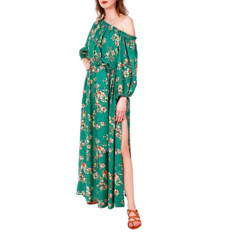 Jill Green Flowers Dress image