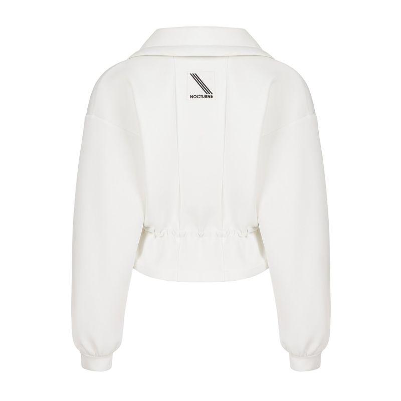 Zipper Jacket With Elastic Waistband image