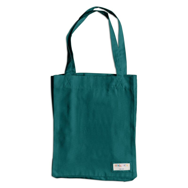 The 4002 Small Organic Tote Bag - Super Green image