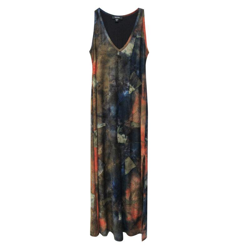 Side-Slit Maxi Dress image