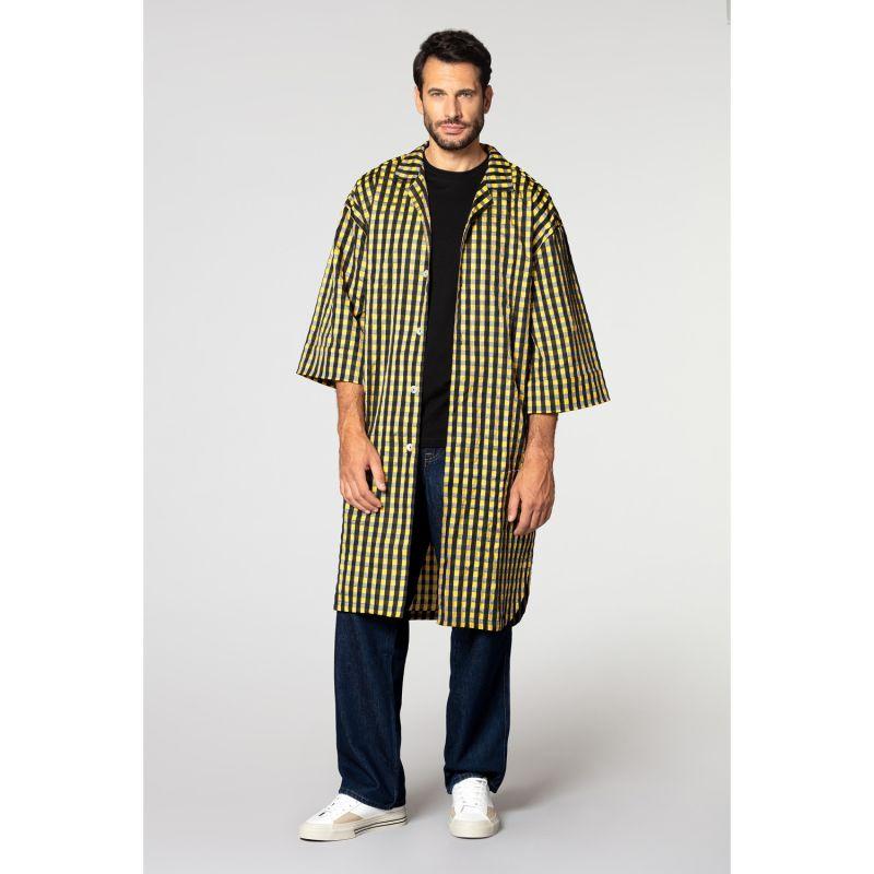 Yukata Shirt - Yukata - Black & Yellow image