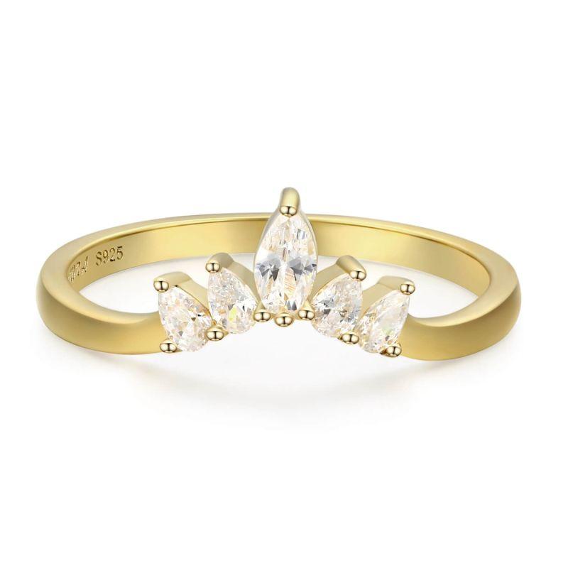 Supreme White Topaz Ring image