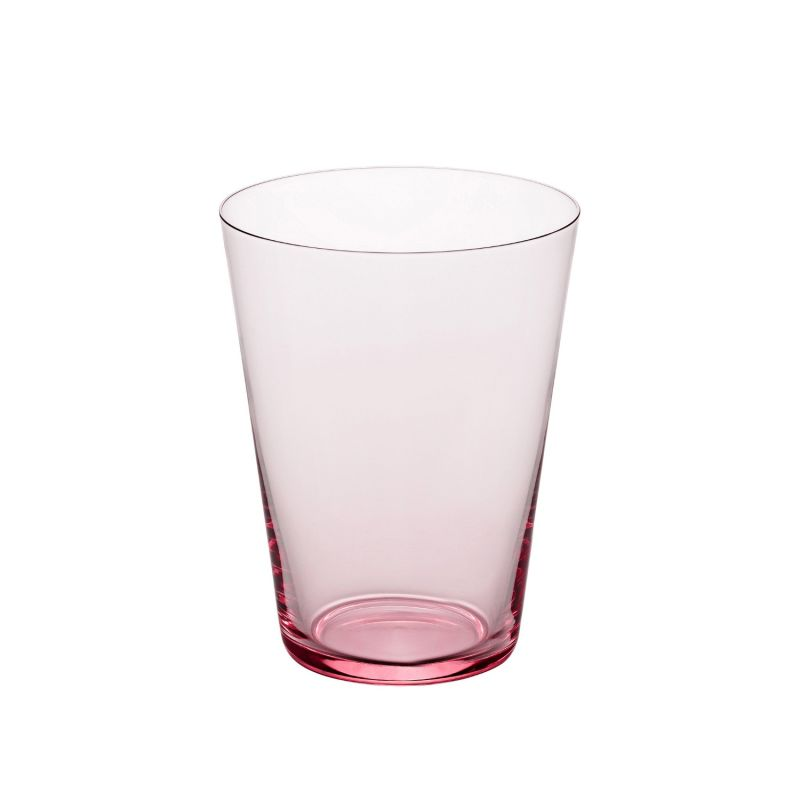 Fifty'S Handcrafted Glass Tumbler - Violet image