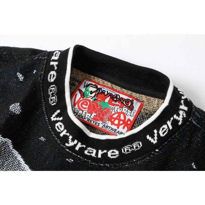 Die Knit Jacquard Crewneck/Sweater image