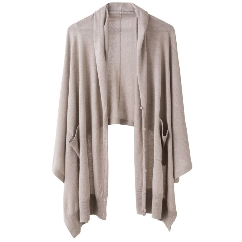 Cashmere Silk Wrap Cardigan image