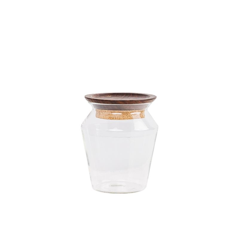 Kosa Clear Glass Jar - 0.5L image