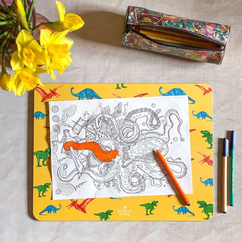 Large Dinosaur Placemat image