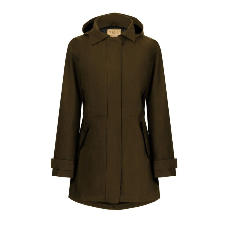 Shell Parka In Olive image