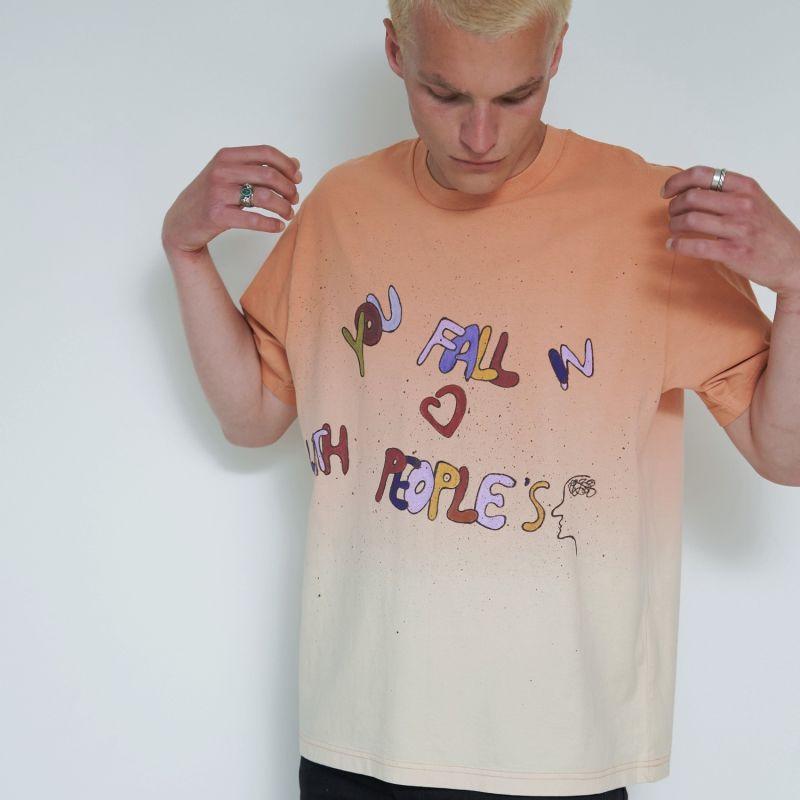 Hand Painted Organic T-Shirt image