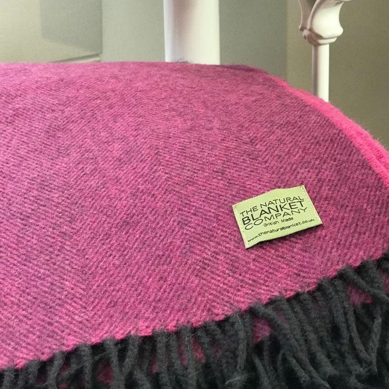 Finest Collection Rosebay Merino Lambswool Blanket. image