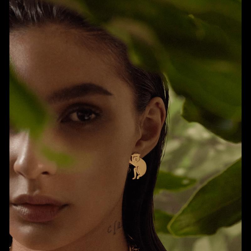 My Mini Monkey Earrings image