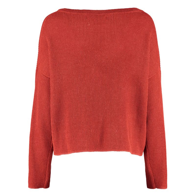 Sullana Knitted Boxy Sweater - Copper image