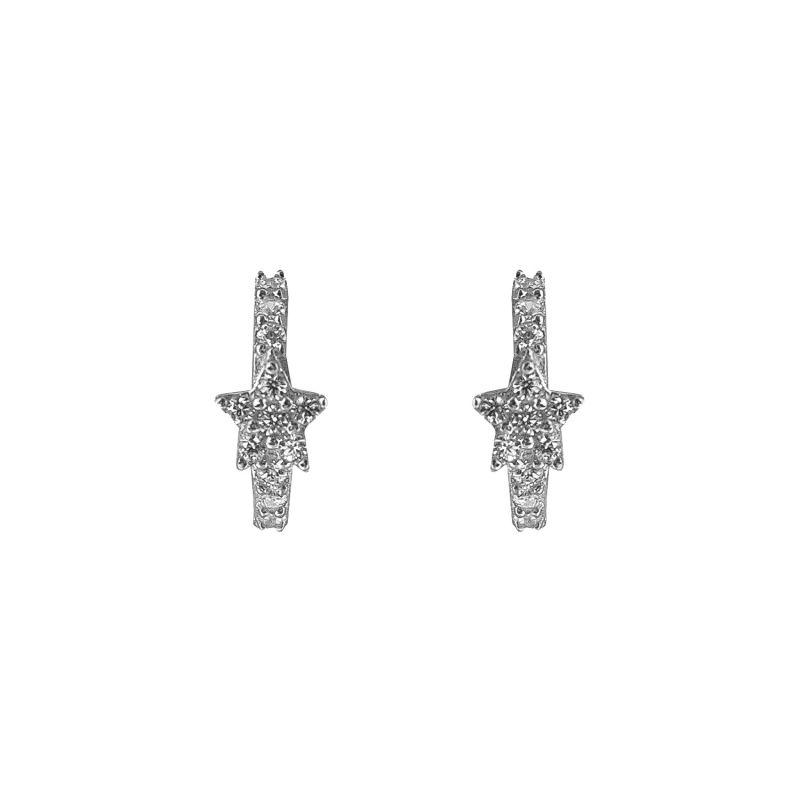 Celeste Star Mini Huggies Silver image