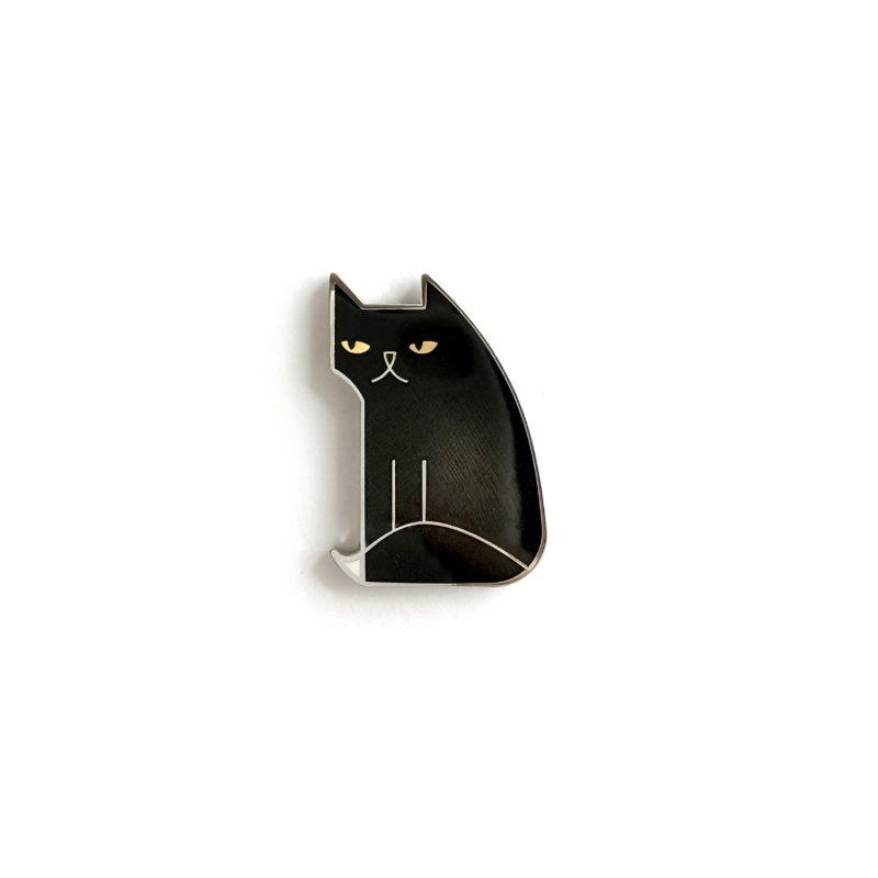 Not Amewsed Enamel Pin image
