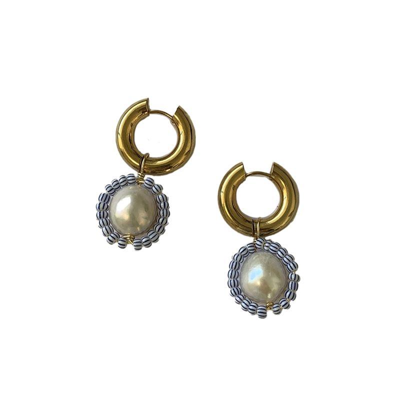 Coastline Hoop Earrings image