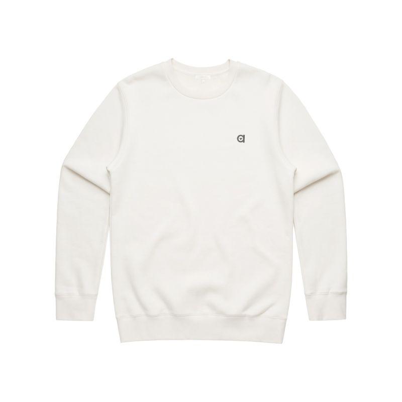 Off White Crew Neck Sweatshirt image