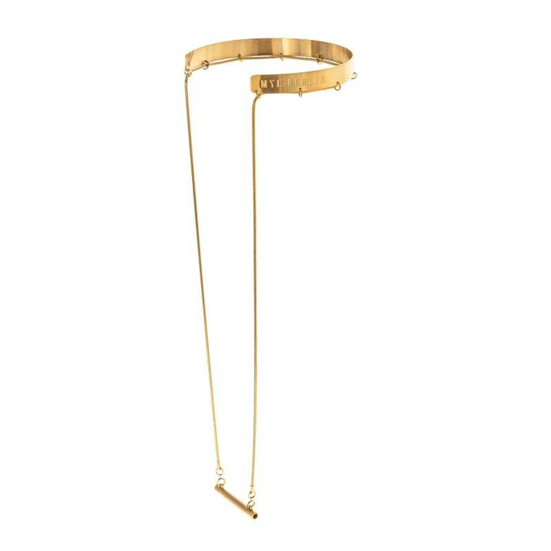 Halskrause - Gold image
