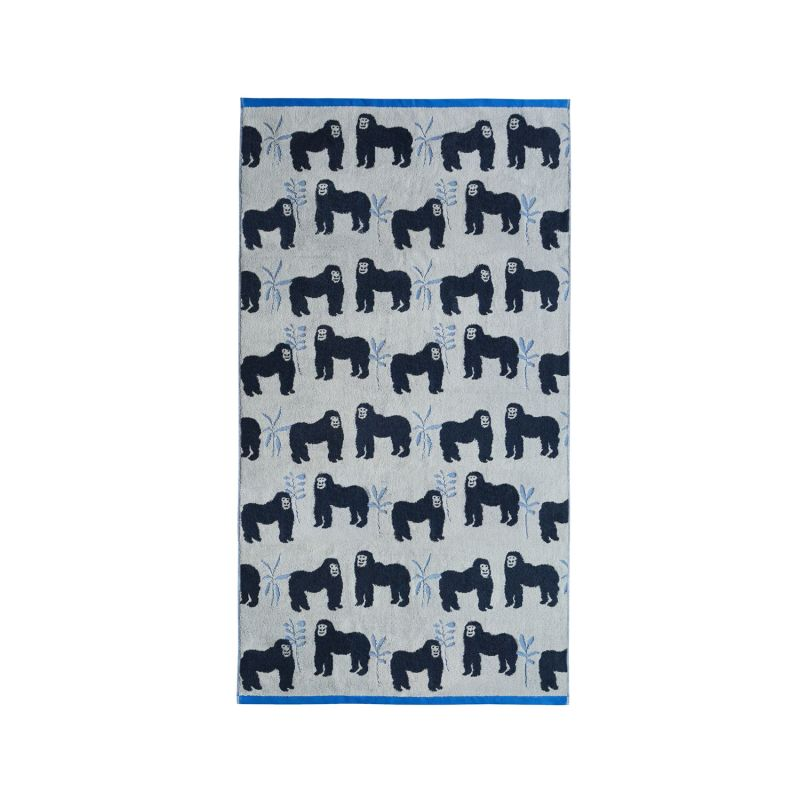 Gorillas Organic Cotton Bath Sheet image
