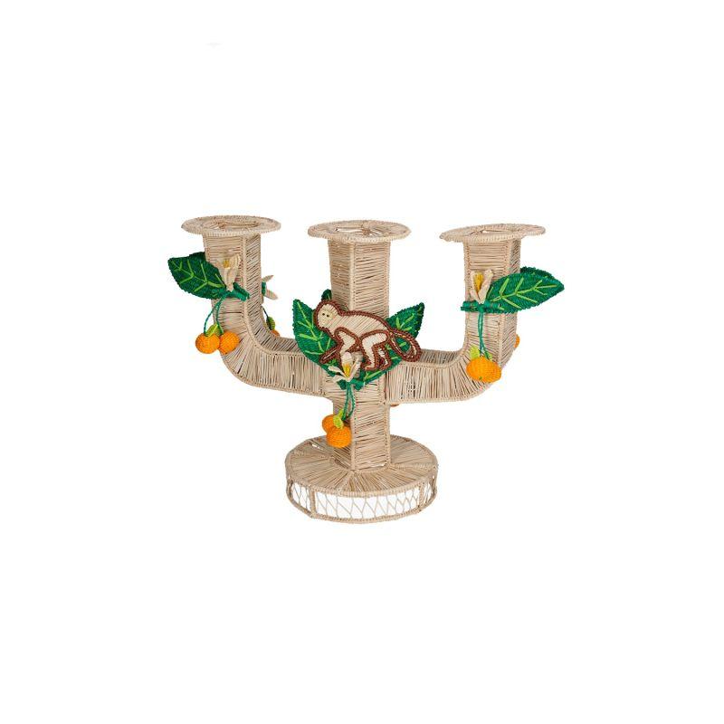Monkey Candle Holder image