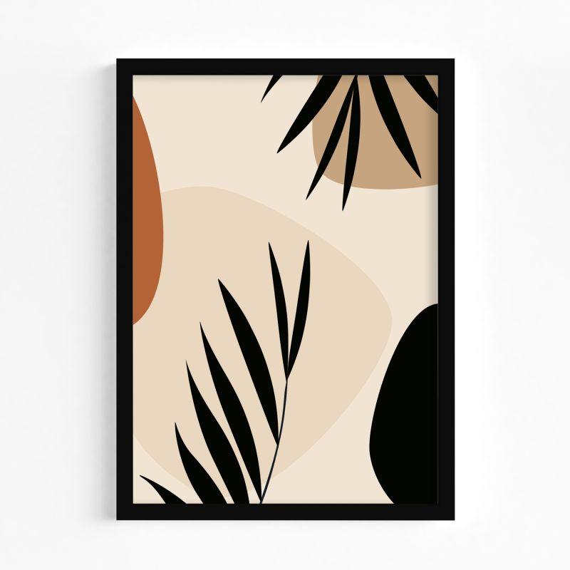 A2 Warm Leaves 02 Art Print image
