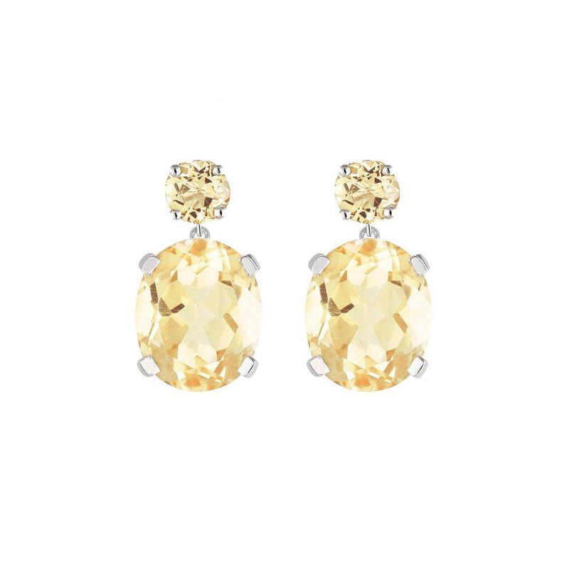 Citrine Drop Earrings image