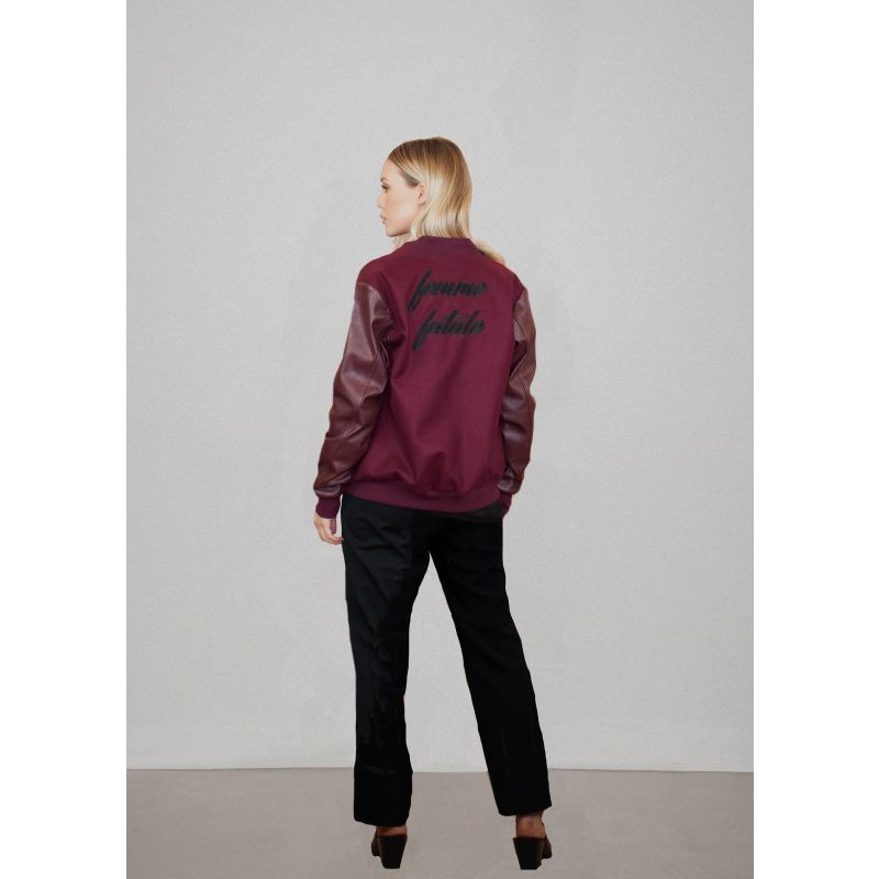 Femme Fatale Varsity Jacket image