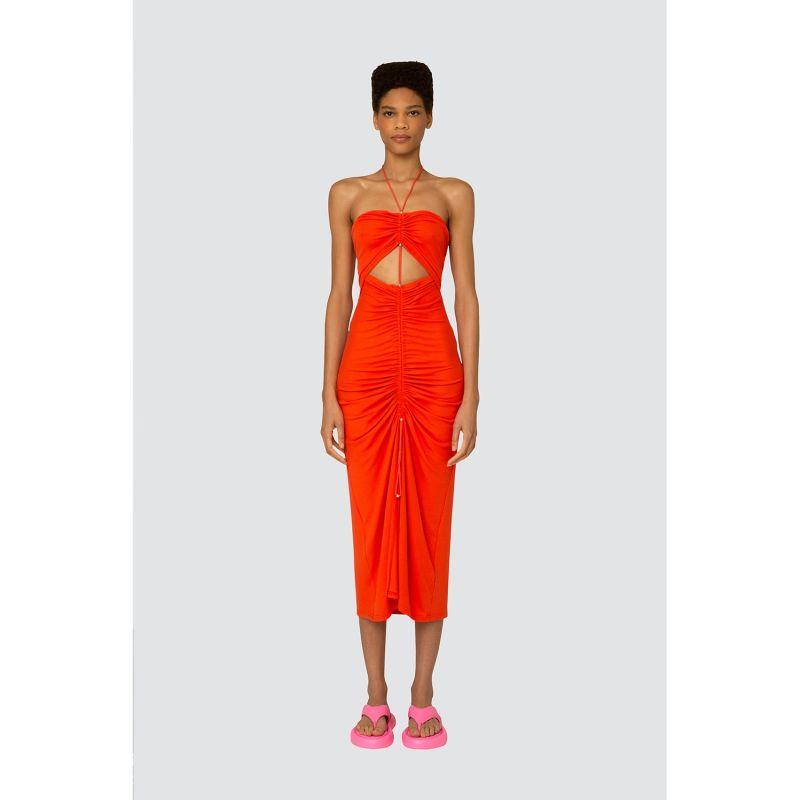 Vega dress in orange image