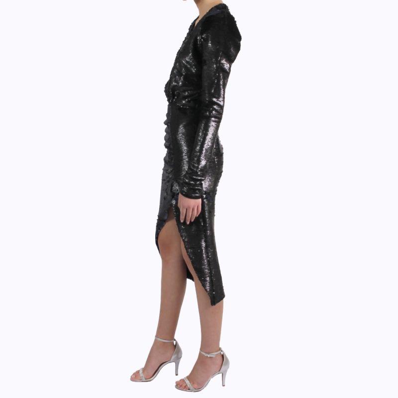 Rei Sequin Wrap Dress image