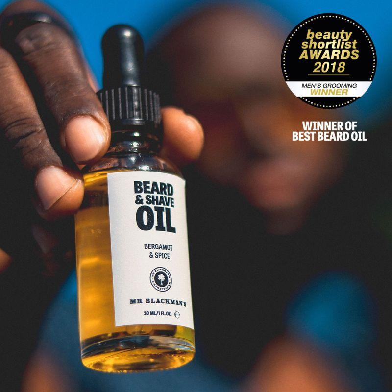 Bergamot & Spice Beard & Shave Oil image