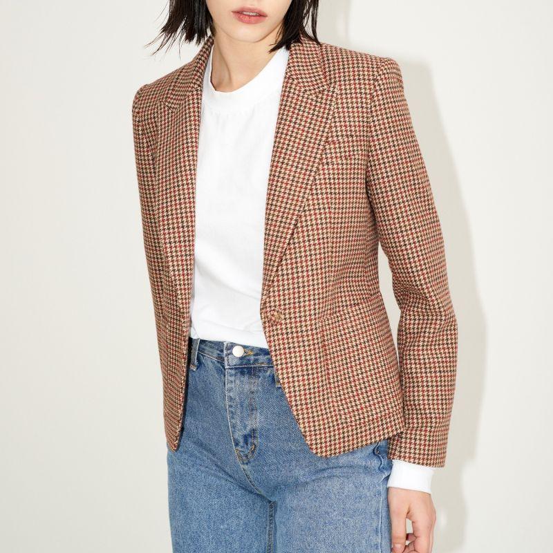 Carol Tailored Jacket Brown image