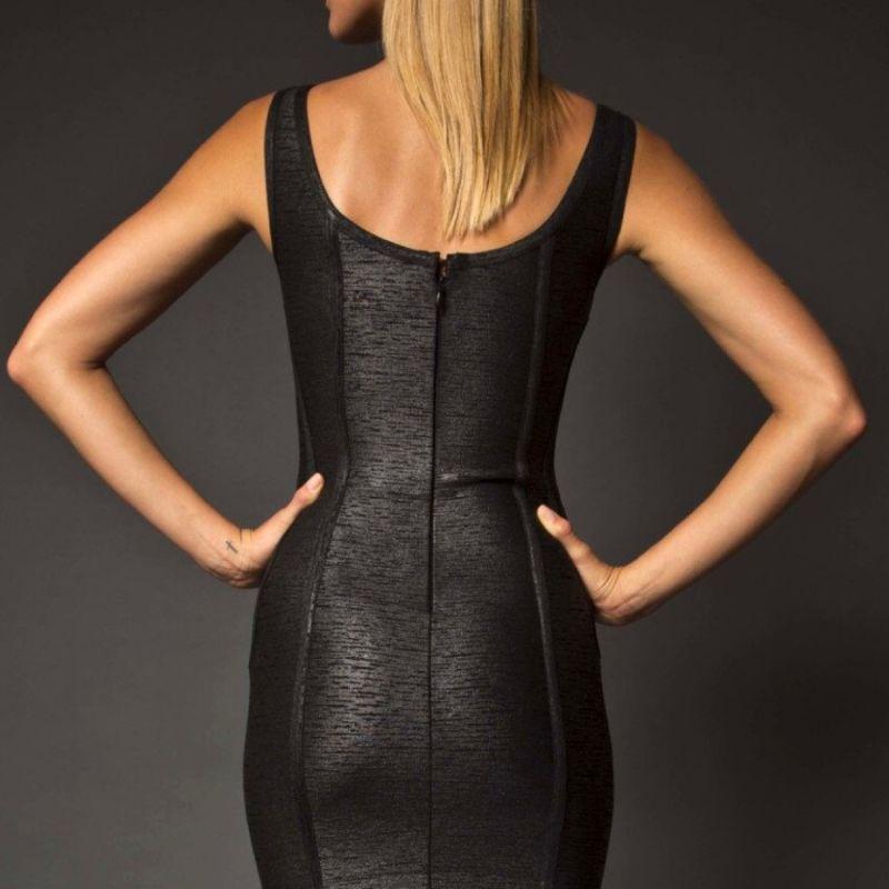 Kari Noir Bodycon Dress image