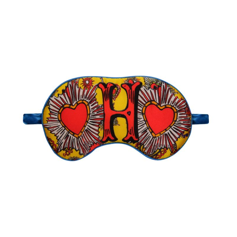 H For Hearts - Silk Eye Mask image