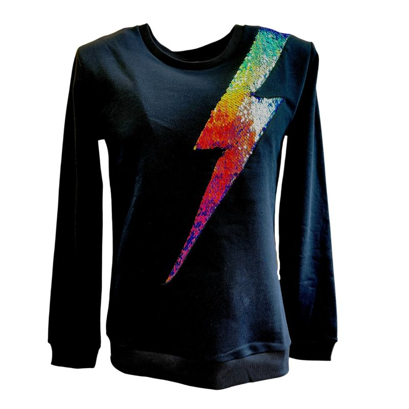 Any Old Iron Oil Slick Lightning Sweatshirt image